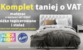 od 23 do 26 listopada BLACK WEEK w salonie Otomaterace.pl